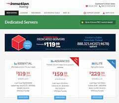 شرح مصور شراء سيرفر انموشن هوستنج inmotionhosting Dedicated Servers